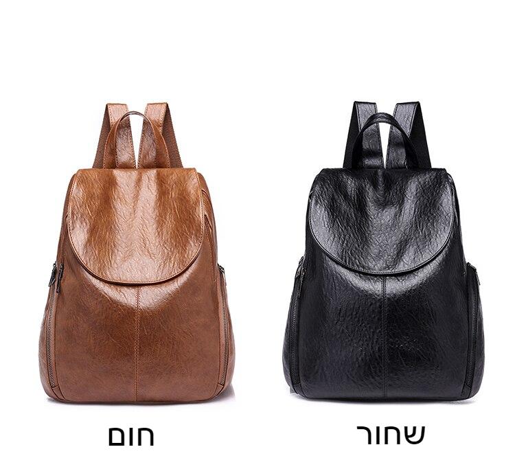 2018 אופנה נשים תרמילי עור מפוצל תרמיל כתף שקיות Daypack עבור נשים נשי תרמיל נשי המוצ 'ילה 226